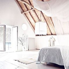 Perfect Nap Room Via @nicolettareggio! #beautysleep Dachausbau, Wohnen,  Home Design Dekor