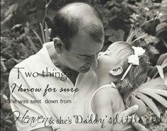 Daddy's little girl. Copyright Photos by Karen Matos