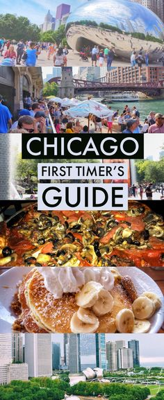 First time in Chicago? Here are things to do, restaurants, bars, and more with the perfect Chicago travel itinerary and guide for 4 days. Must Do In Chicago, Time In Chicago, Chicago Vacation, Chicago At Night, Chicago Things To Do, Chicago Bars, Visit Chicago, Chicago Travel, Travel Usa