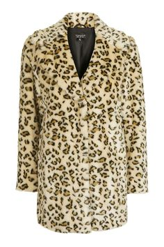 Casual Leopard Faux Fur Coat - THE GRUNGE GIRL - We Love - Topshop Europe