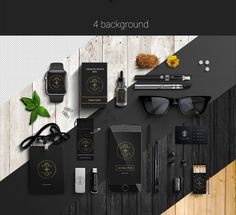Free Corporate Style PSD Mockup