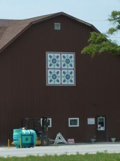Barn Quilt Trail, Marshall County, Indiana