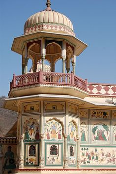 Jaipur Hindu architecture, Rajasthan, India