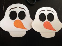 Frozen Olaf Masks