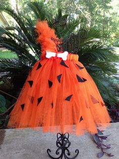 Pebbles inspired tutu dress size 6 mo to 5t on Etsy, $28.00