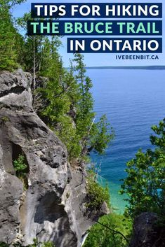 The Bruce Trail is an Ontario icon & the trail can be tricky at times. Here are my tips for hiking the Bruce Trail to ensure a safe & fun adventure! Quebec, Best Places To Travel, Places To Visit, Toronto, Backpacking Canada, Canadian Travel, Canadian Rockies, Canada Destinations, Visit Canada