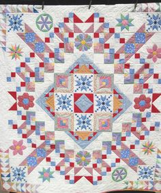 Quilt Twin Double Lap Patchwork Thirties Sampler reproduction Quiltsty  Handmade by KellettKreations on Etsy