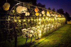Huwelijksdiner in de perengaard! Fruitbomen - Lampionnen - Bruiloft - Italilan diner