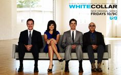 White Collar on USA. what a good show. this and Suits!(: