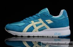 Womens And Mens Asics Jonning Sneaker Shoes Blue Noctilucent|only US$95.00 - follow me to pick up couopons.