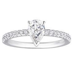 ドジルパヴェソリテール ペアシェイプ/フローレスダイヤモンド 「Ring Link Ring」で婚約指輪・結婚指輪を探す!