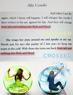 Crossed by ally condie pdf matched trilogy 2 great novels matched series by ally condie loved this remembered this line from matched just as i read it again in crossed fandeluxe Gallery