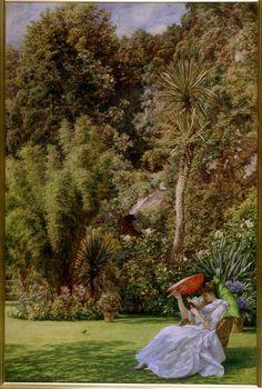 In A Garden - Sir Edward John Poynter