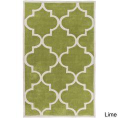 Artfully Crafted Mya Geometric Polyester Area Rug-(3'6 x 5'6) (