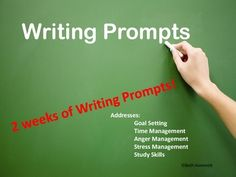 Great writing prompts!
