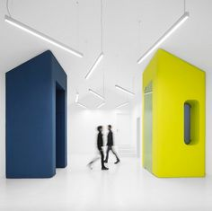Image 3 of 23 from gallery of Transforma Art Studios / Pedro Gadanho + CVDB arquitectos. Photograph by Fernando Guerra Architecture Events, Architecture Design, Contemporary Building, Contemporary Architecture, Industrial Park, Ideal Beauty, Modern Architects, Art Studios, Interior Design