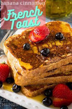 Banana French Toast, Best French Toast, Cinnamon French Toast, Awesome French Toast Recipe, Meals Everyone Loves, Banana Cinnamon, Banana And Egg, Breakfast Bread Recipes, Tasty