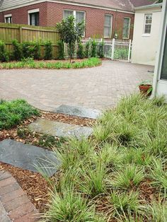 This backyard space in Avondale, Florida went from being a jumble of different plants to an outdoor space you really want to spend time in. 5 Star Outdoor Design designed this outdoor space with a curved patio leading to a seating wall that complements the unique stepping stone path. The beautifully arranged landscape really help make this space wonderful.