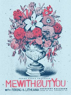 GigPosters.com - Mewithoutyou - Foxing - Lithuania