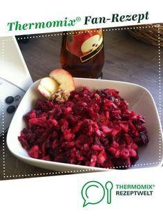 Fruchtiger Rote Beete Apfel Salat von gibsy89. Ein Thermomix ® Rezept aus der Kategorie Vorspeisen/Salate auf www.rezeptwelt.de, der Thermomix ® Community.