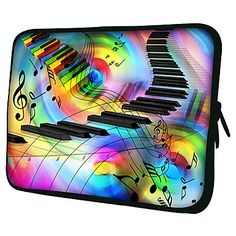 Piano Keys Laptop Sleeve Case for MacBook Air Pro/HP/DELL/Sony/Toshiba/Asus/Acer – AUD $ 12.30