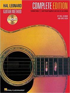 Hal Leonard Guitar Method, Complete Edition: Books & CD's 1, 2 and 3: Will Schmid, Greg Koch: 9780634047015: $14.12 https://www.amazon.com/gp/product/0634047019/ref=as_li_tl?ie=UTF8&tag=veganchic-20&camp=1789&creative=9325&linkCode=as2&creativeASIN=0634047019&linkId=6cef6bfa00ba83b2006d0ad51e3f7f55