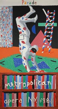 David Hockney, Parade Fantastic holiday gift for your home decor