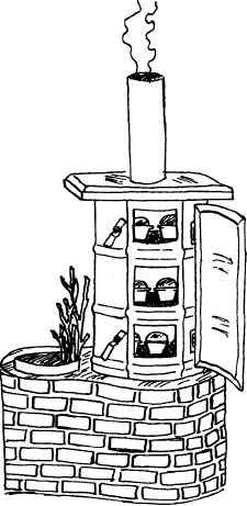 Rocket Stove Bread Oven