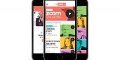 """[#TV #recommandation] La nouvelle application """"francetv zoom"""" regroupe les programmes de France Télévisions dans une chaîne mobile pour iPhone fondée sur la recommandation [EMarketing 02/06/15]"""