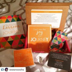 """lovedandblessed on Instagram: This month's #lovedandblessed box hits right to the heart at the right time! Today was the start of a new journey for hubby and I and we are both excited and scared for what the future may hold. And that travel tag comes just in time before our France trip! Can't wait to put that """"find joy in the journey"""" charm on my key chain tomorrow morning! Good night world. Enjoy every day of this beautiful journey, and don't forget to breathe"""