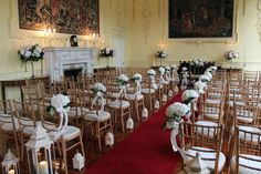 Wedding ceremony inspriation at Luttrellstown Castle Resort