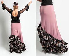 Falda baile flamenco Debla Flamenco Costume, Flamenco Skirt, Costume Dress, Dance Costumes, Dance Outfits, Dance Dresses, Sexy Outfits, Fashion Outfits, Mexican Style Dresses