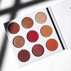 2016 NEW Eyeshadow Palette 9 Color In 1 BURGUNDY PALETTE Make Up Cosmetics Matte Eyeshadow Eye Shadow Palette