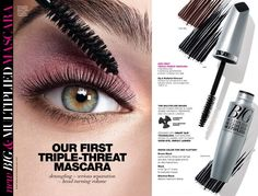 Campaign 10 will be Introducing BIG & Multiplied Mascara.  This will be Avon's First Triple-Threat Mascara, it untangles and separates lashes so that each lash is visible and volumized, one by one, from root to tip. Will be in Brown Black, Black and Blackest Black. #Mascara #BIG&Multiplied #AvonRep #NotNanasAvon #NotGrandmasAvon #StayBeautiful
