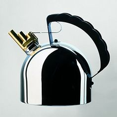 Alessi Tea Kettle With Whistle