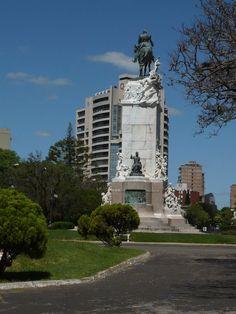 Parque, barranca, ciudad de Paraná, Provincia de Entre Ríos, Argentina, 2011