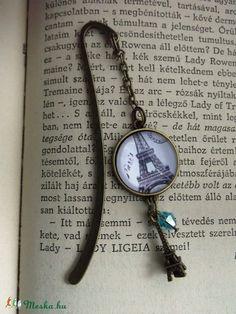 Könyvjelző Párizs Eiffel torony Könyves Könyvmoly Üveglencsés, Naptár, képeslap… Pocket Watch, Pendant Necklace, Creative, Accessories, Jewelry, Jewlery, Jewerly, Schmuck, Jewels