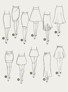 Skirt design drawing fashion sketches 68 New Ideas Dress Design Sketches, Fashion Design Sketchbook, Fashion Design Drawings, Fashion Sketches, Fashion Illustrations, Dress Drawing, Drawing Clothes, Fashion Terms, Fashion Art