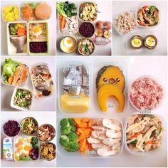 20 เมนูข้าวกล่องแบบคลีน ๆ ภาระกิจนี้เพราะมีแฟน Healthy Dessert Recipes, Clean Recipes, Diet Recipes, Healthy Eating Schedule, Chicken Diet Recipe, Fusion Food, Food Menu, Clean Eating, Good Food