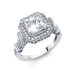 Antiques Constructive Antique Old Mine Cut Diamond Wedding/engagement Ring F Vs 0.10 Carat 18k