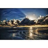Found it at Wayfair - Atlantic Sunrise by Dan Wilson Gallery-Wrapped Floater-Framed Canvas