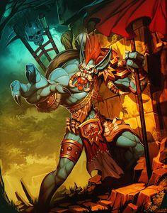 12 Best Voljin Images Games Starcraft Warcraft Art