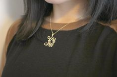 Get excited for this season with a perfect monogram to pair with any fall/winter look!