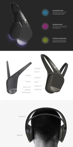 Headphone Innovation: Sound Drop on Behance
