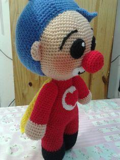 Crochet Gratis, Erika, Tweety, Diy And Crafts, Hello Kitty, Batman, Easter, Crochet Animal Amigurumi, Bebe