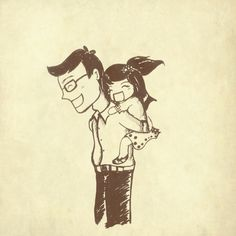 There are no perfect fathers, but a father will always love perfectly..