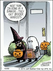 Halloween Jokes - Banker Jokes - Kids Jokes
