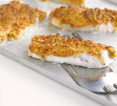 Cashew, chilli & lime-crusted fish