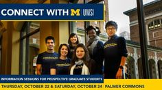 Thinking about pursuing a Master's or PhD in Information? Learn why umsi and UMich might be the perfect fit!