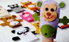 簡単かわいい手作り指人形の作り方まとめ(動物や虫、紙や手袋)   Interior Design Box 海外の使えるインテリア術